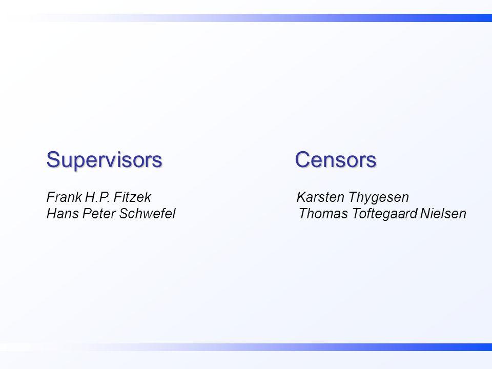 Supervisors Censors Frank H.P.