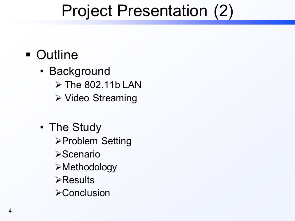 15 Streaming principle (2) Video Streaming Real-time Requirements Streaming principle Video Structure Background Protocol Stack Example of frame size PDF (Friends 2x16) here, the total number of frames is 32455