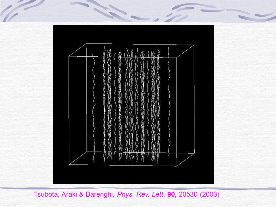 Tsubota, Araki & Barenghi, Phys. Rev. Lett. 90, 20530 (2003)