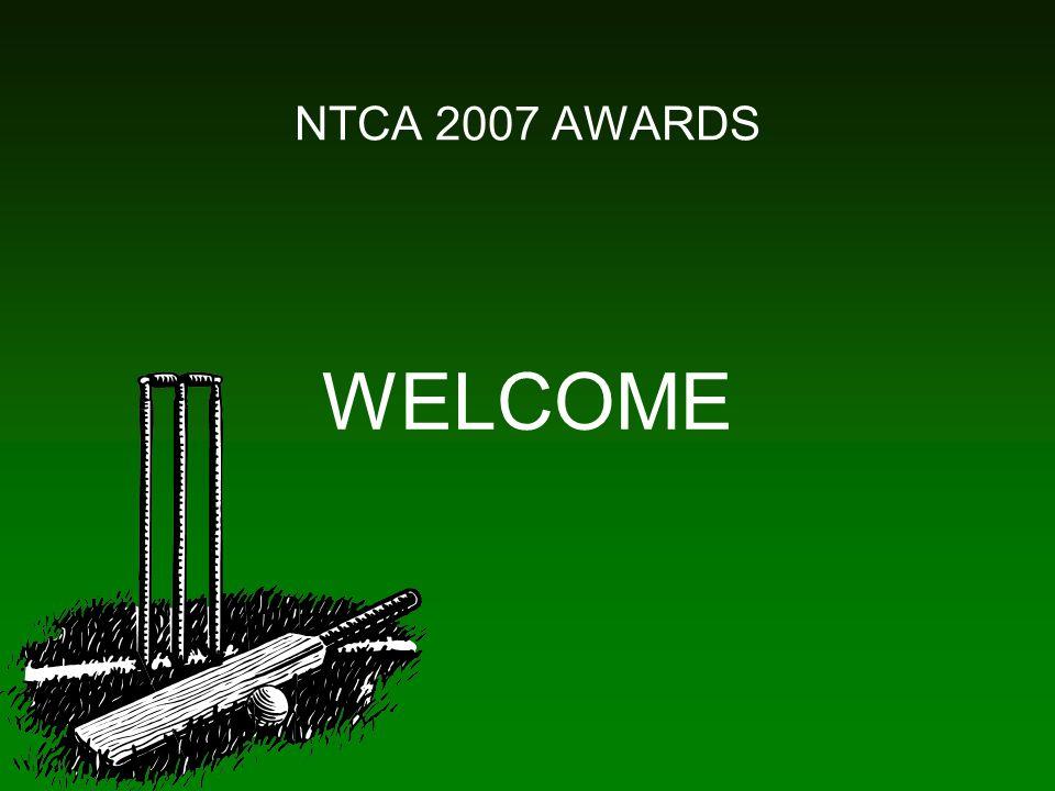 NTCA 2007 AWARDS WELCOME