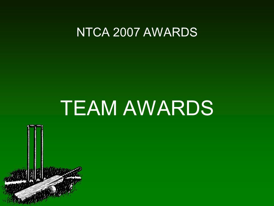 NTCA 2007 AWARDS TEAM AWARDS