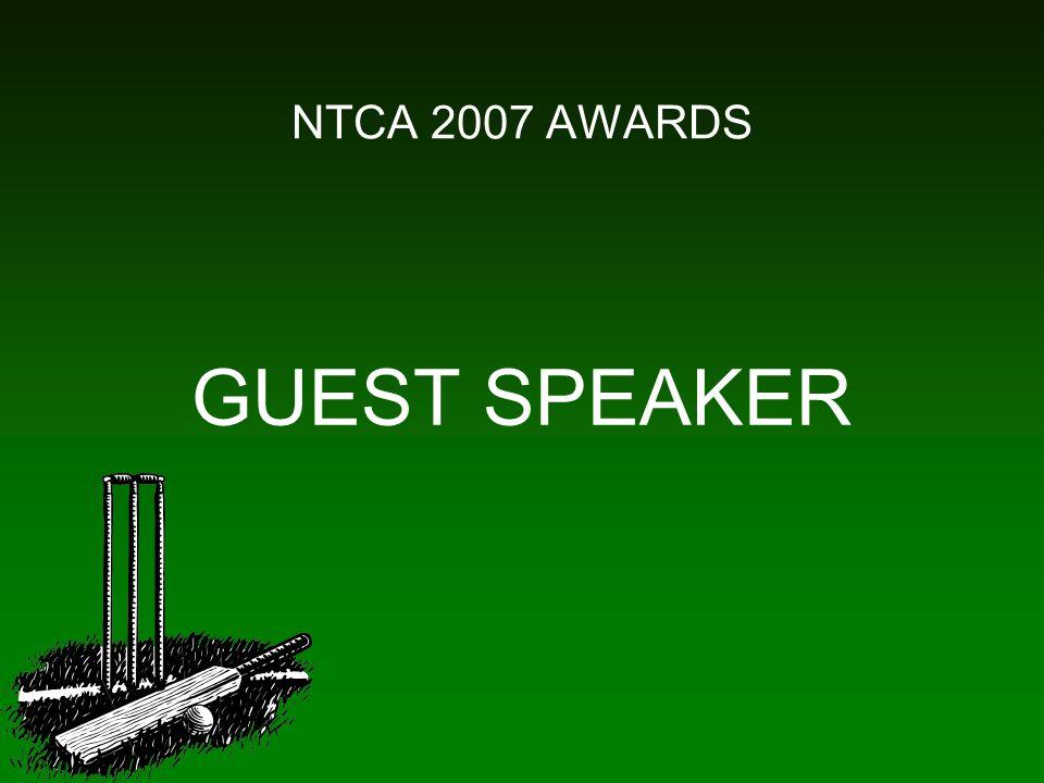 NTCA 2007 AWARDS GUEST SPEAKER