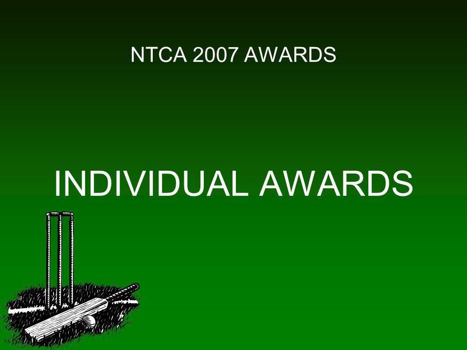 NTCA 2007 AWARDS INDIVIDUAL AWARDS
