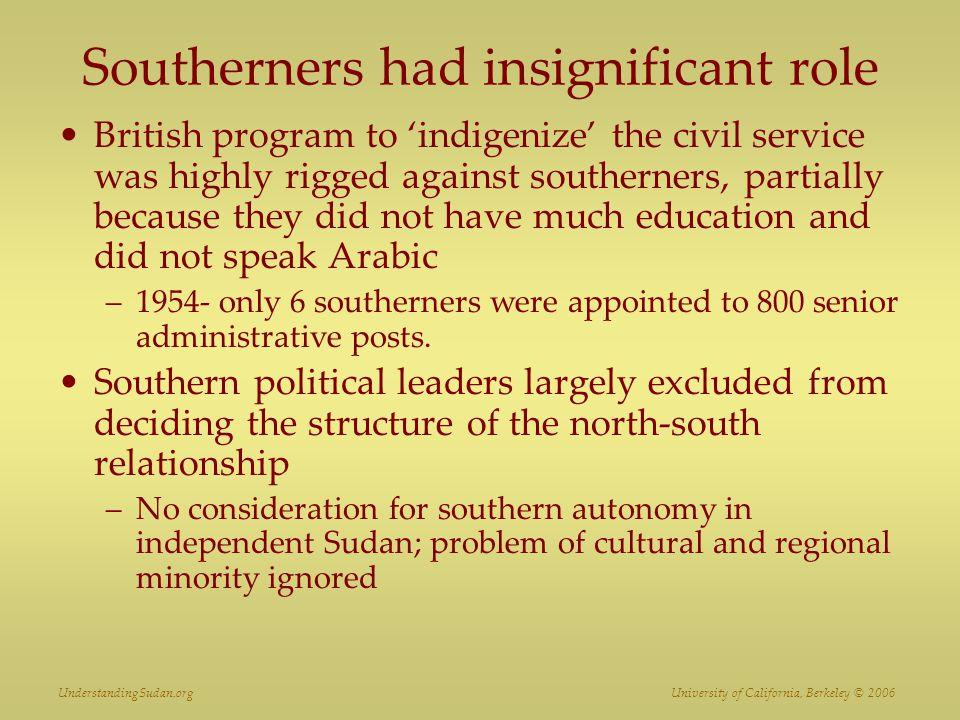 UnderstandingSudan.org University of California, Berkeley © 2006 John Garang de Mabior June 23, 1945 – July 30, 2005 Vice President, Sudan SPLA Leader
