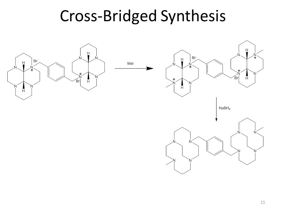 15 Cross-Bridged Synthesis