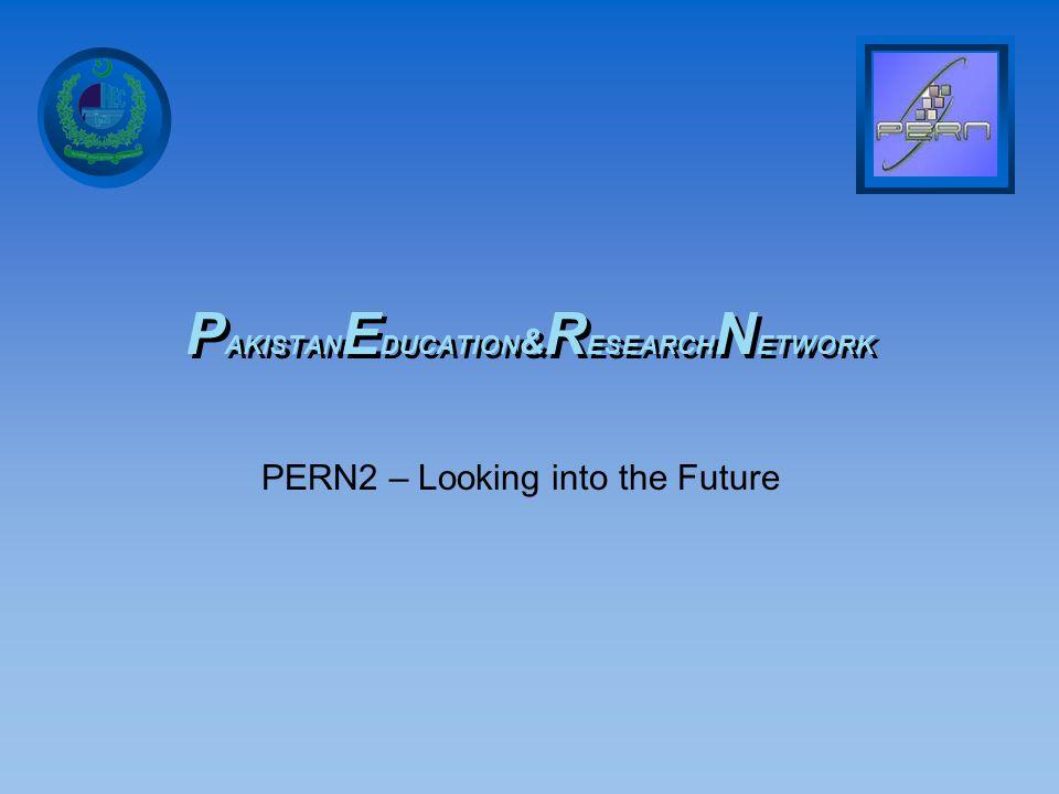 Higher Education Commission Pakistan PERN2 Long Haul Fiber Layout Map Distant Universities Link