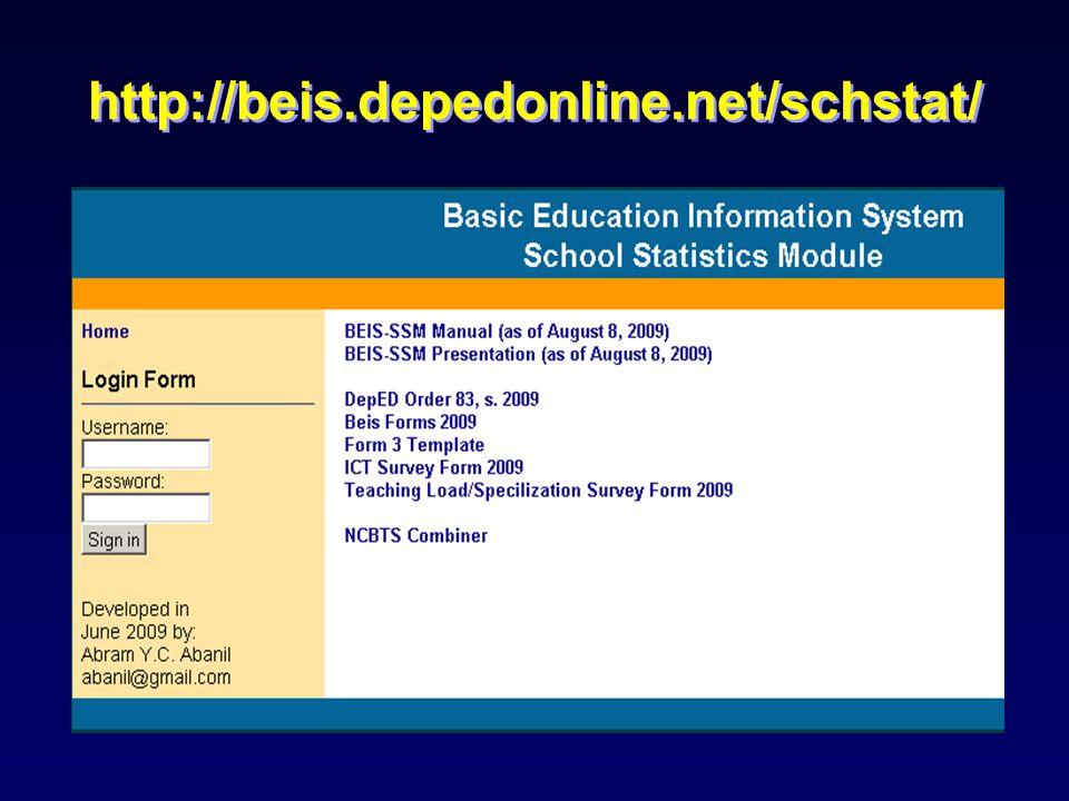 Generating School Reports