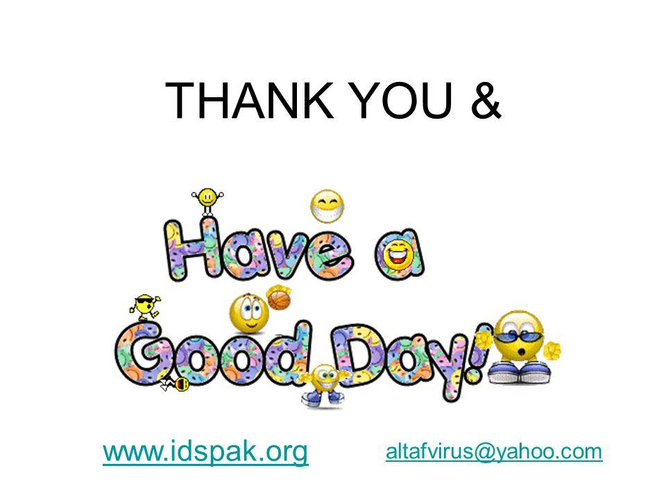 THANK YOU & www.idspak.org altafvirus@yahoo.com