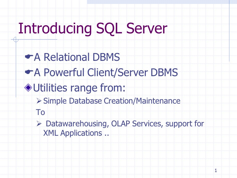 2 What to Install: SQL Server 2000 Versions: Many Versions – Varying in terms of:  Hardware Requirement  Capabilities  Cost The most used ones:  Enterprise Edition: Large and Powerful Databases  Developer Edition: Same as 'Enterprise' except, not licensed for 'Production'  Standard Edition: Ideal for Medium Needs  Personal Edition: For personal use – Does not allow external connection