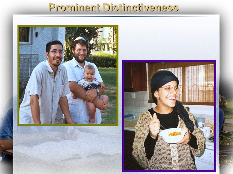 Prominent Distinctiveness