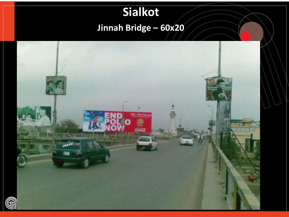 Sialkot Jinnah Bridge – 60x20