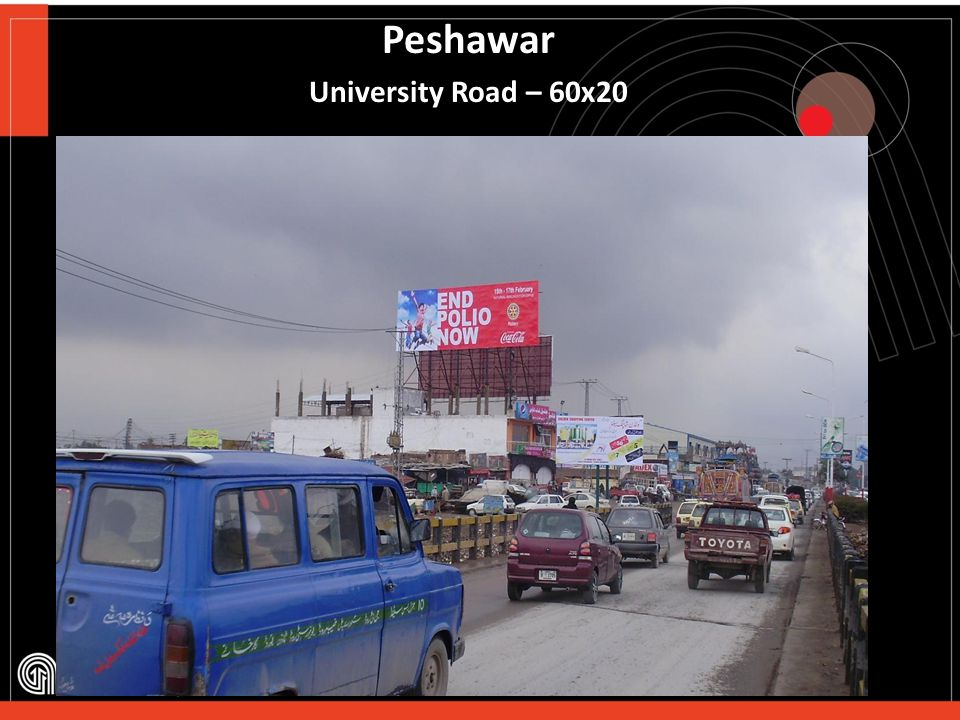 Peshawar University Road – 60x20