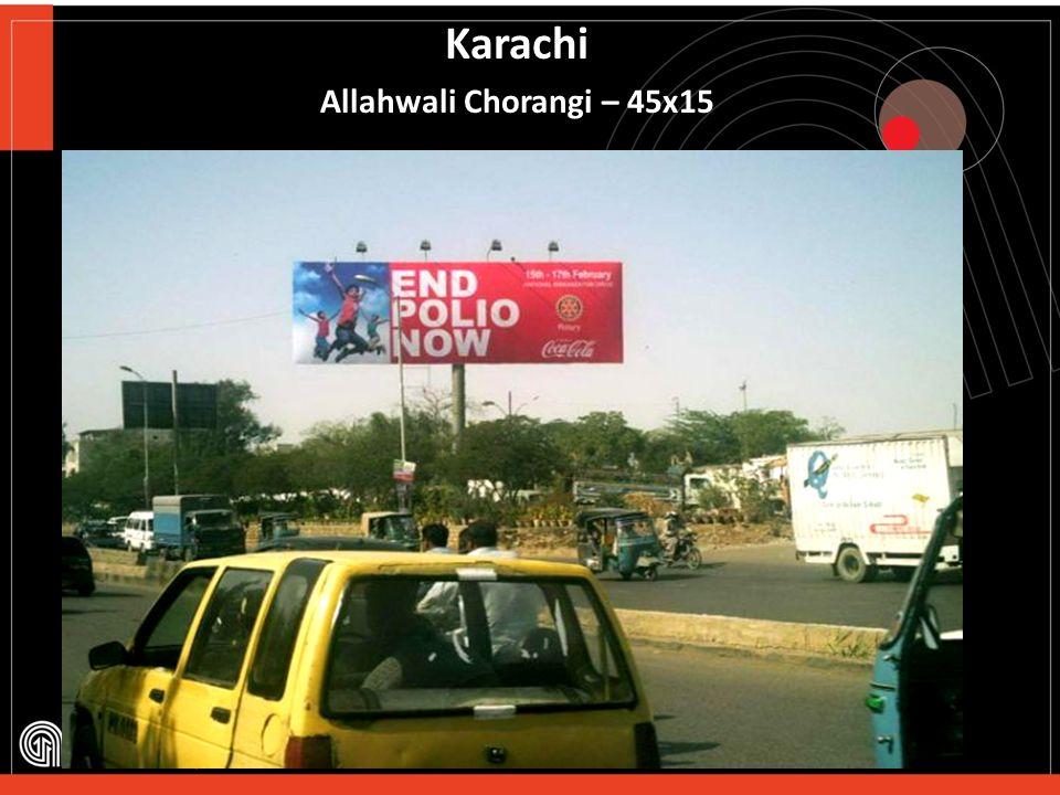 Karachi Express Highway – 60x20