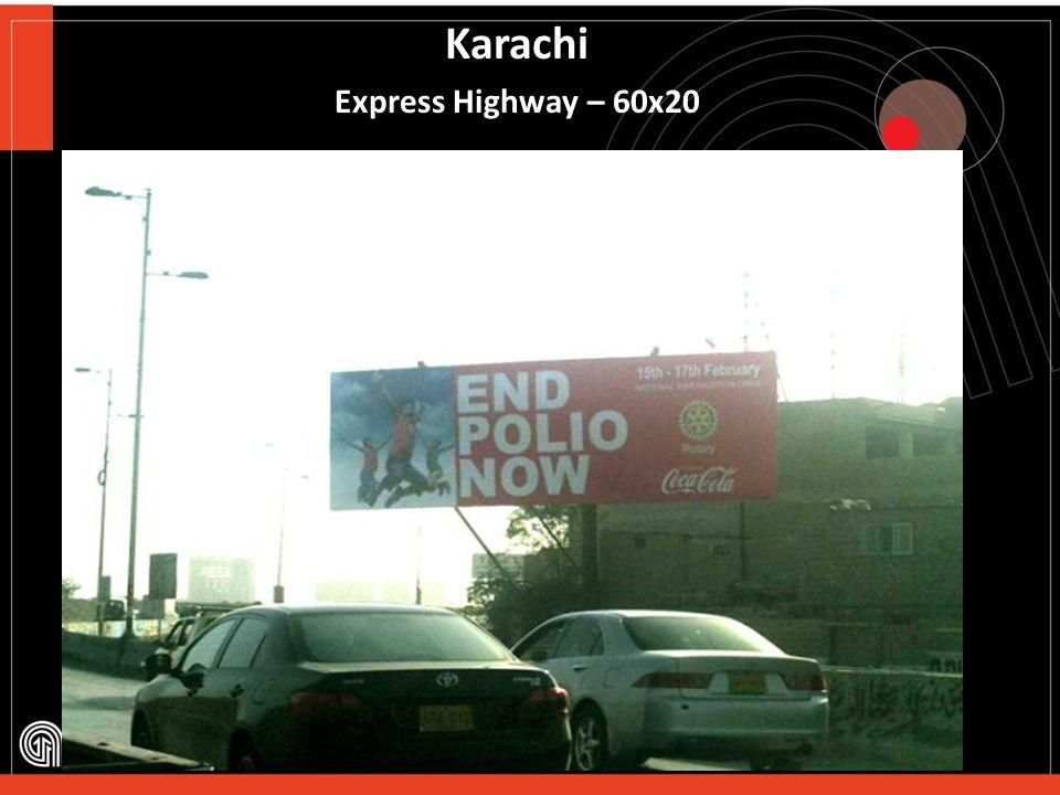 Karachi Johar More – 60x20