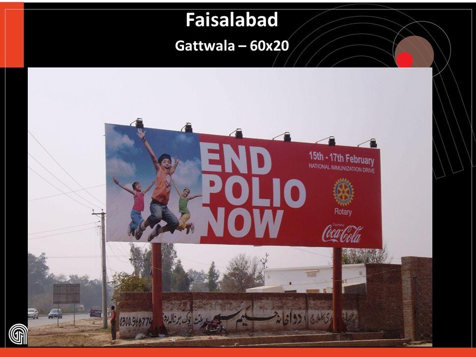 Faisalabad Sargodha Road – 60x20