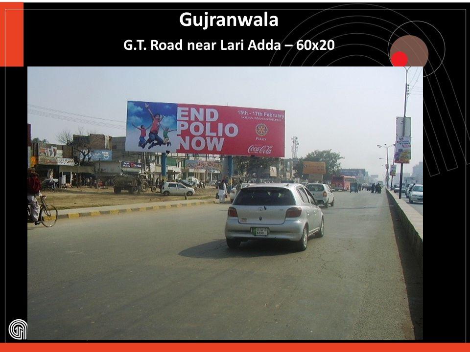 Gujranwala Pindi ByPass – 60x20