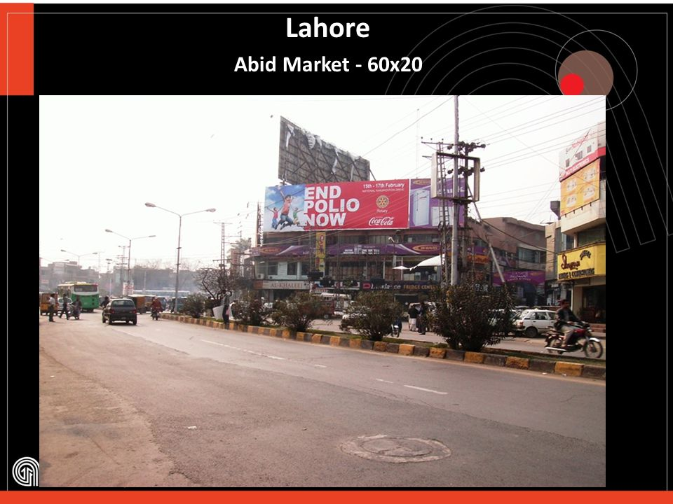 Lahore Ravi Road 60x20