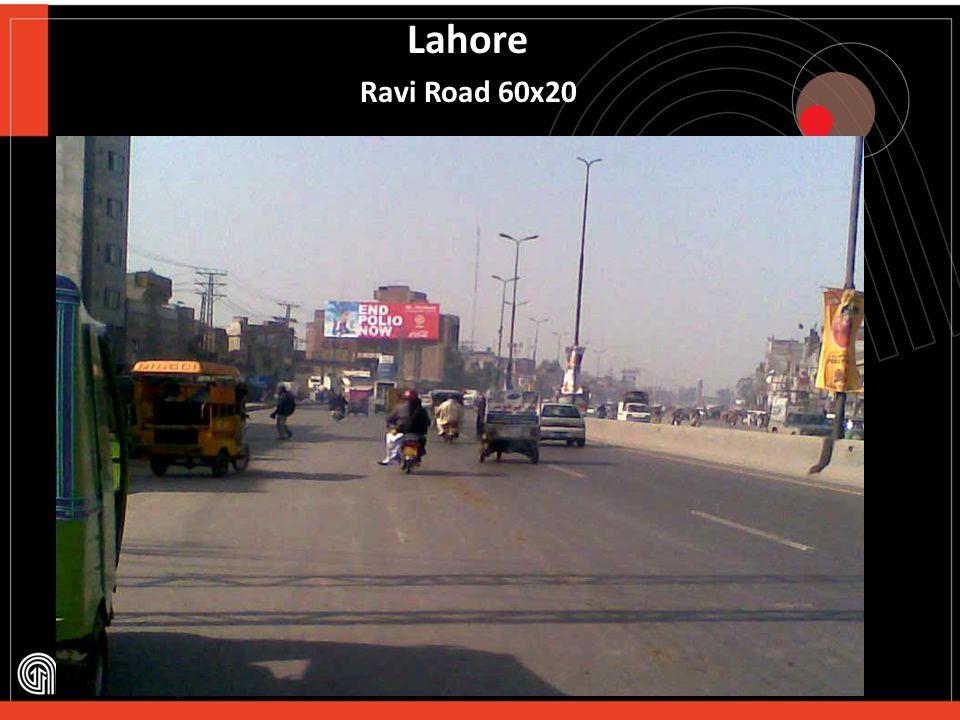 Lahore Ferozpur Road -60x20