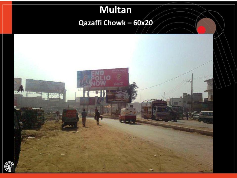 RahimYar Khan City Centre Chowk – 60x20