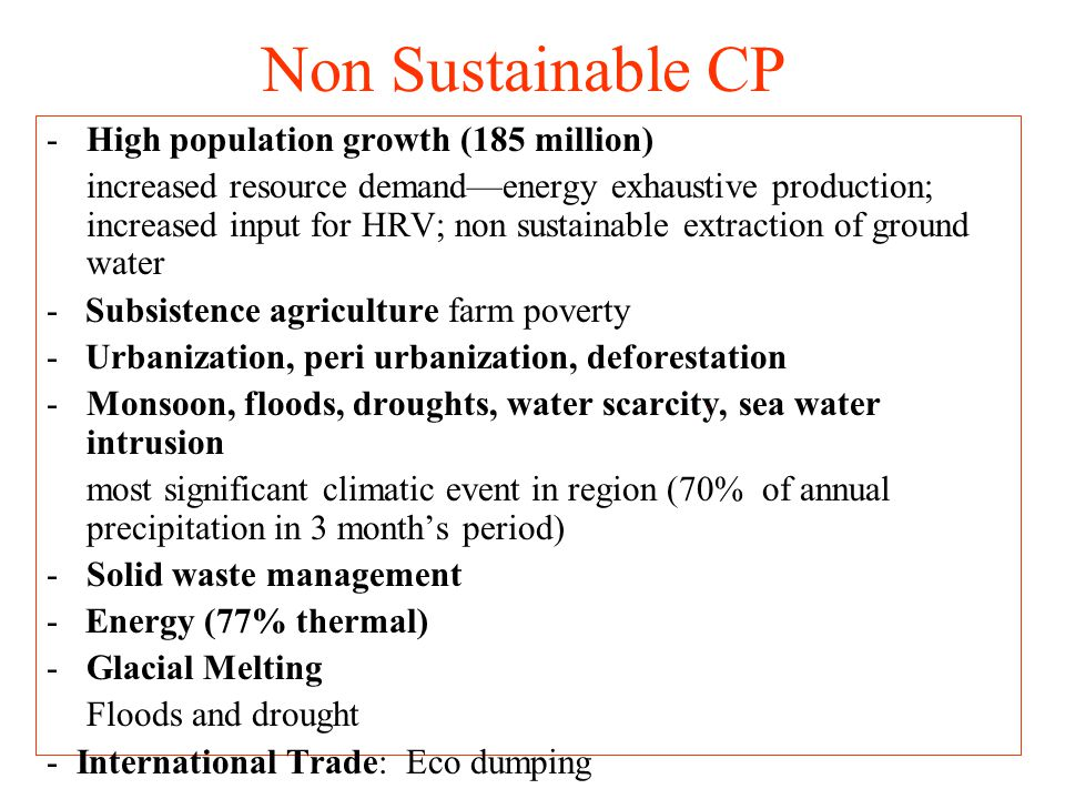 IPCC last report acknowledged that – there are considerable evidences to suggest that human activities are responsible for climate change.