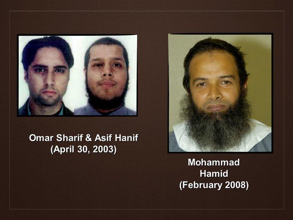 Omar Sharif & Asif Hanif (April 30, 2003) Mohammad Hamid (February 2008)