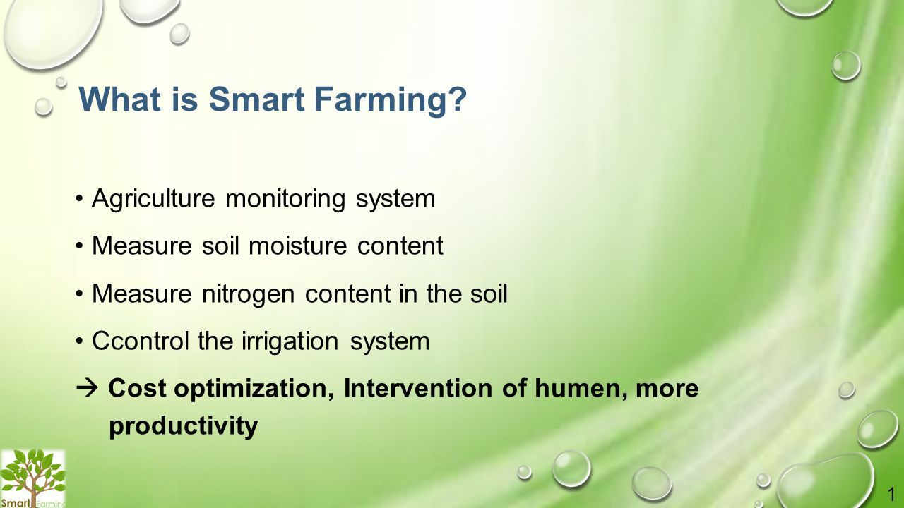 What is Smart Farming.