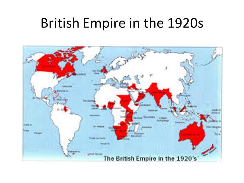 British Empire in the 1920s
