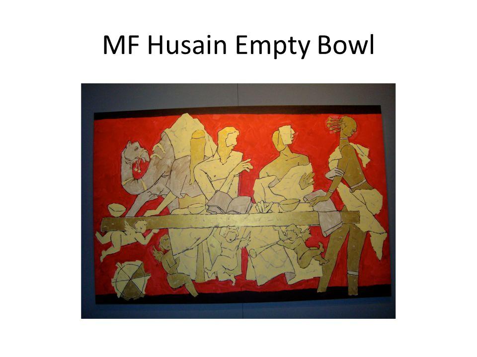 MF Husain Empty Bowl