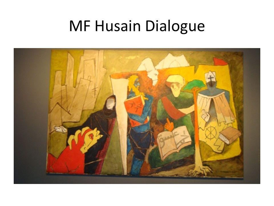 MF Husain Dialogue