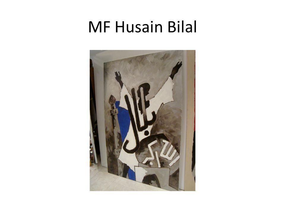 MF Husain Bilal