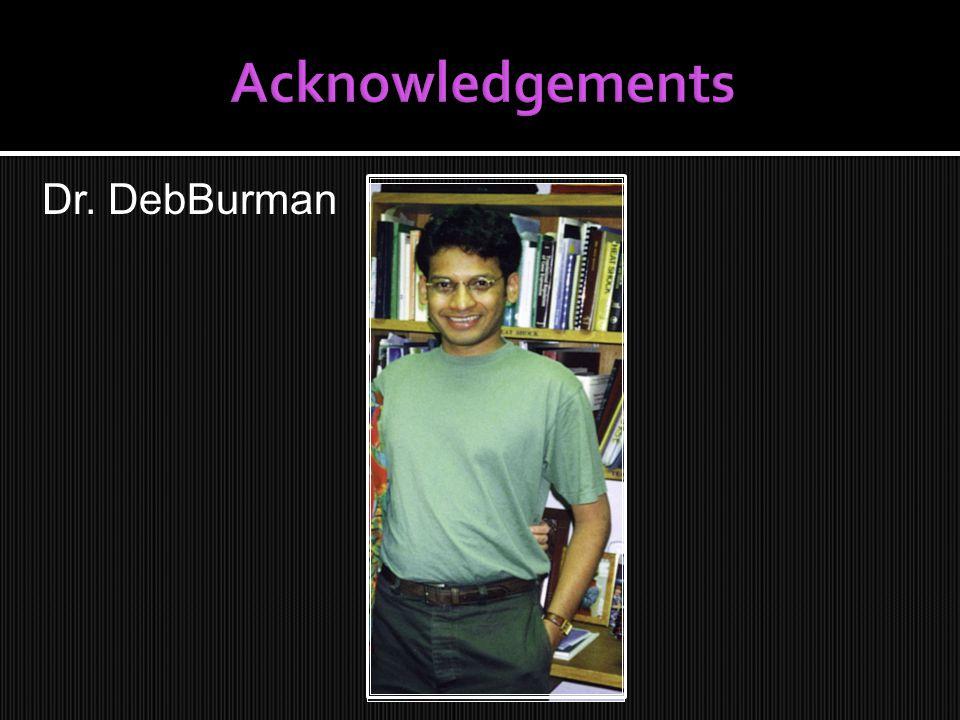 Dr. DebBurman