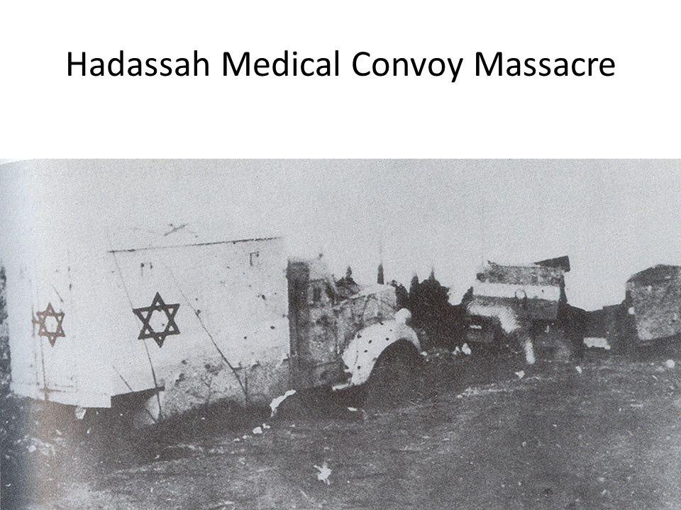 Hadassah Medical Convoy Massacre