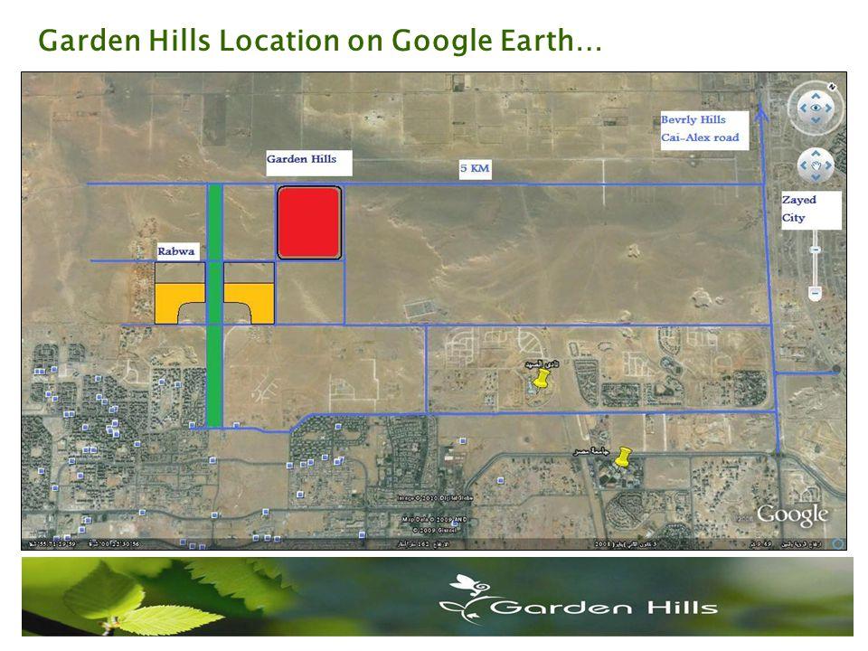 Garden Hills Location on Google Earth…