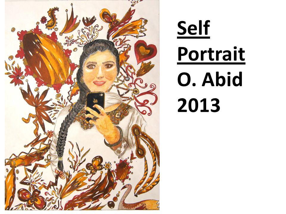 Self Portrait O. Abid 2013