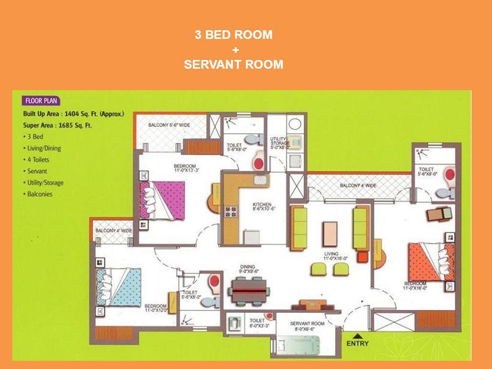 + SERVANT ROOM