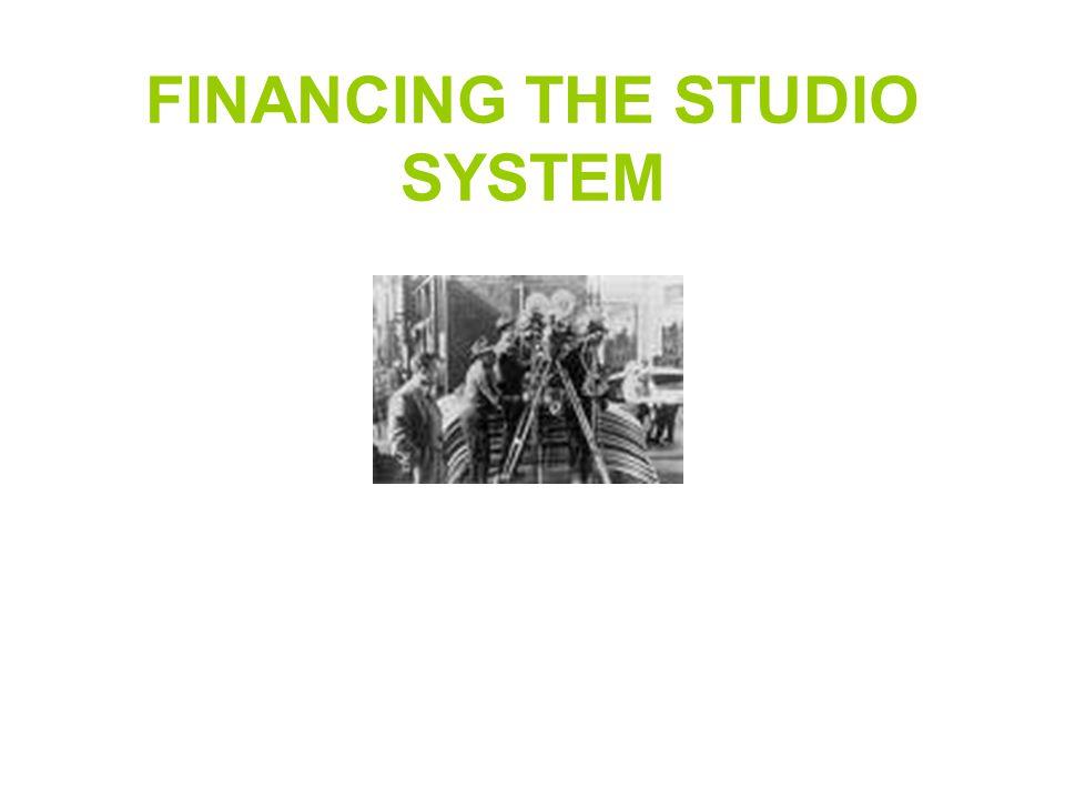 Studio Ownership Big Five: Warner Bros, Paramount, RKO, MGM,Fox Vertical integration.
