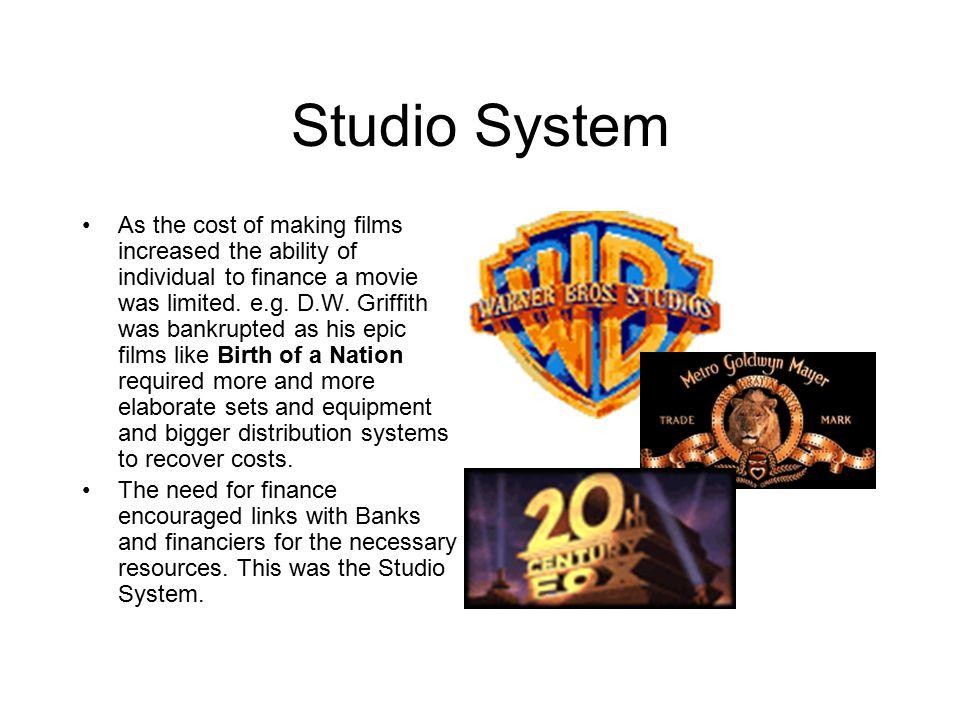 Studios in action 1930-50 Studios in action 1930-50