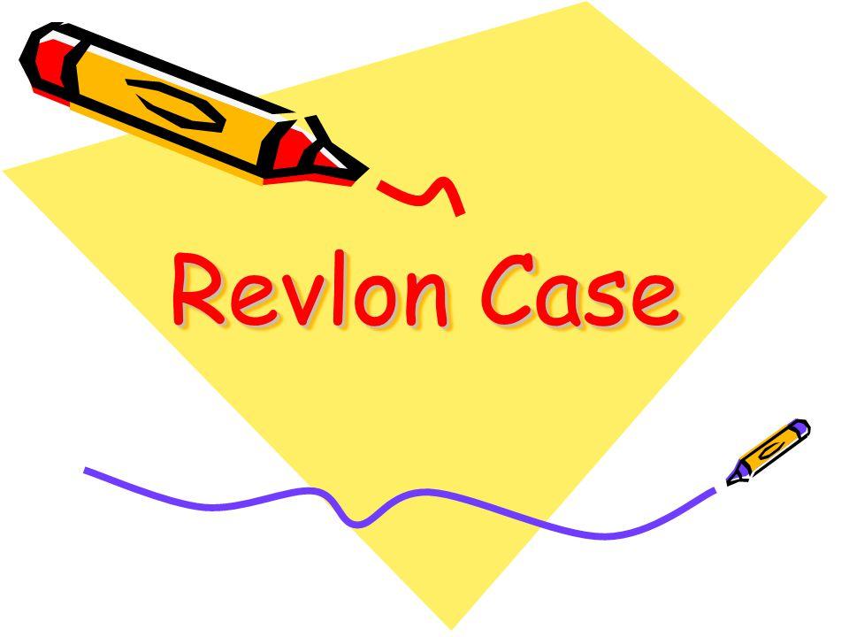 Revlon Case
