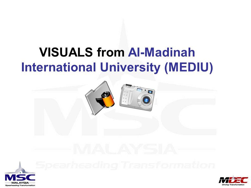 VISUALS from Al-Madinah International University (MEDIU)