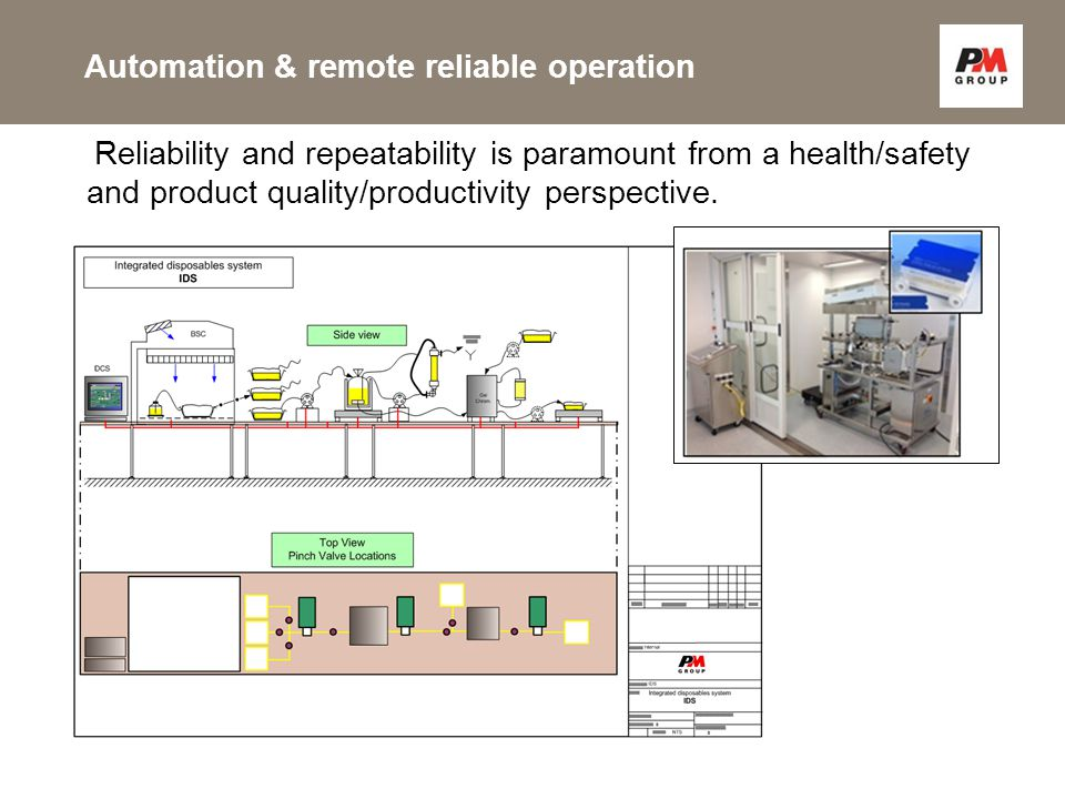 Reliability and repeatability is paramount from a health/safety and product quality/productivity perspective.