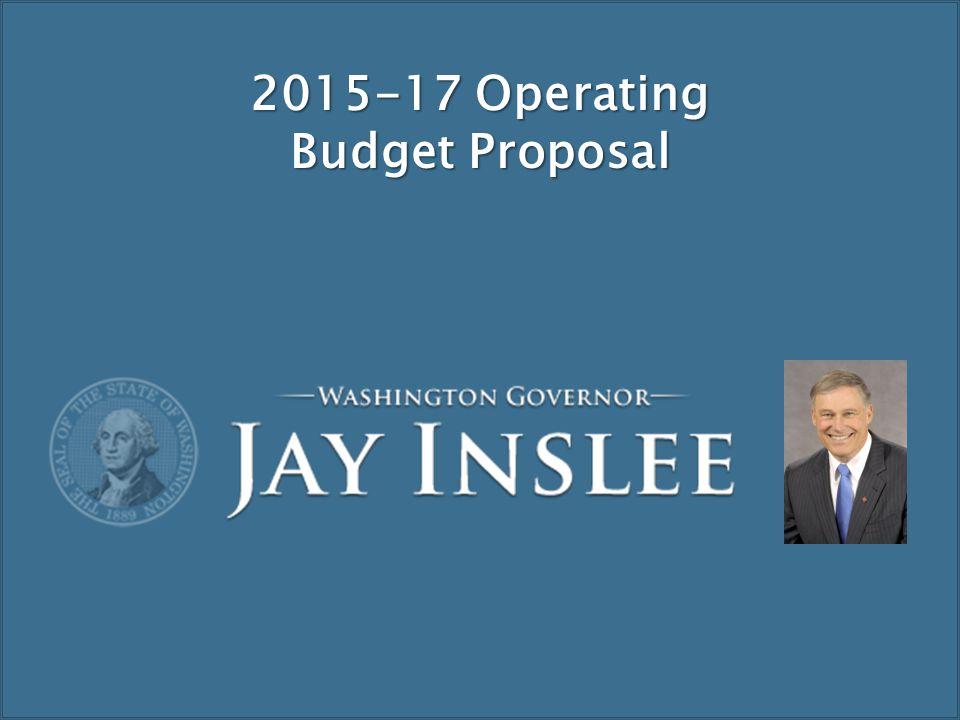 26 2015-17 Operating Budget Proposal