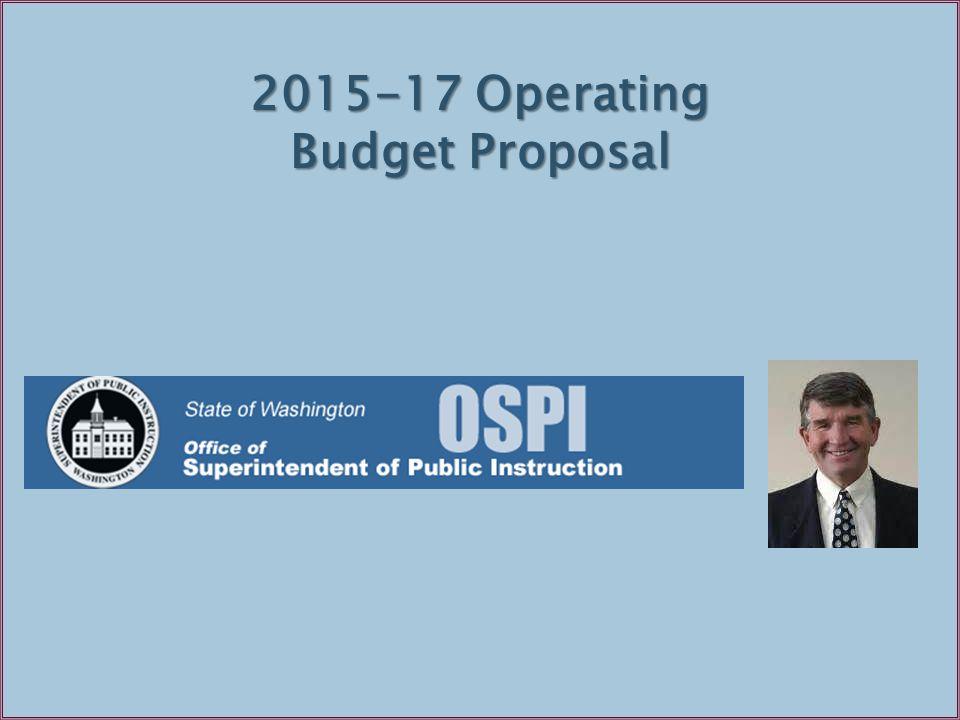 29 2015-17 Operating Budget Proposal
