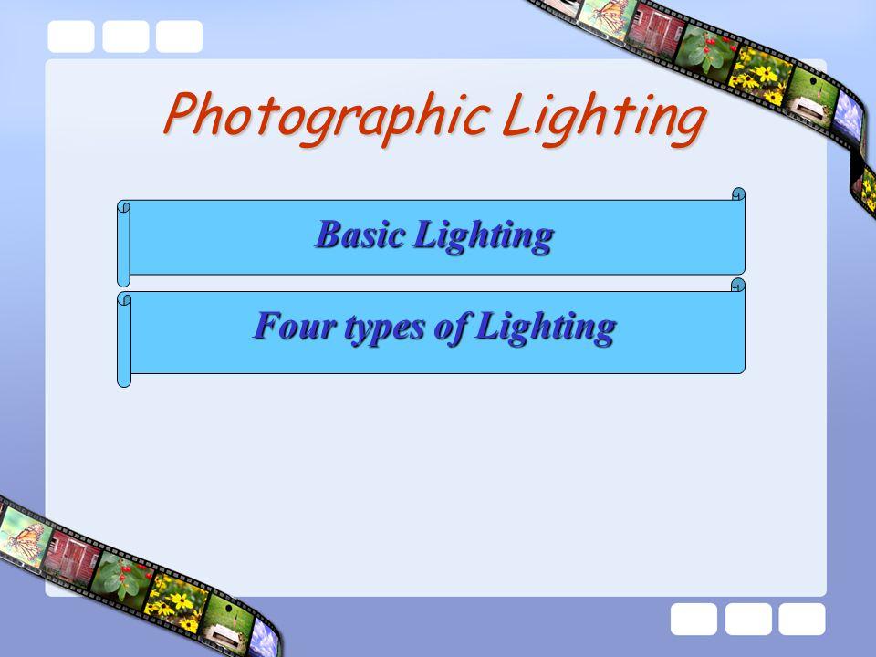 Basic Lighting Four types of Lighting