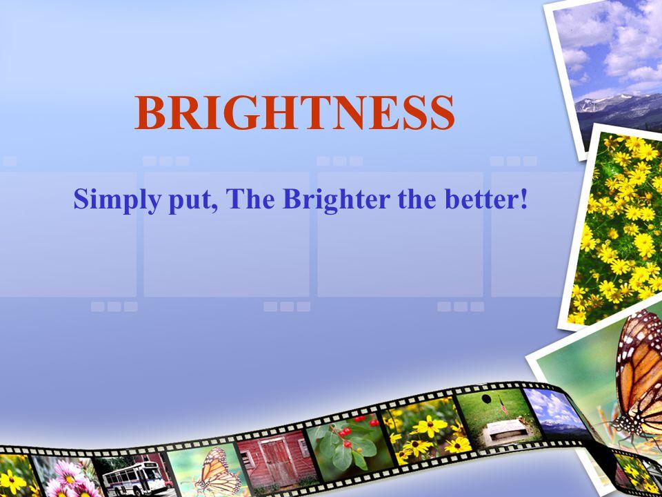 Four Types of Lighting