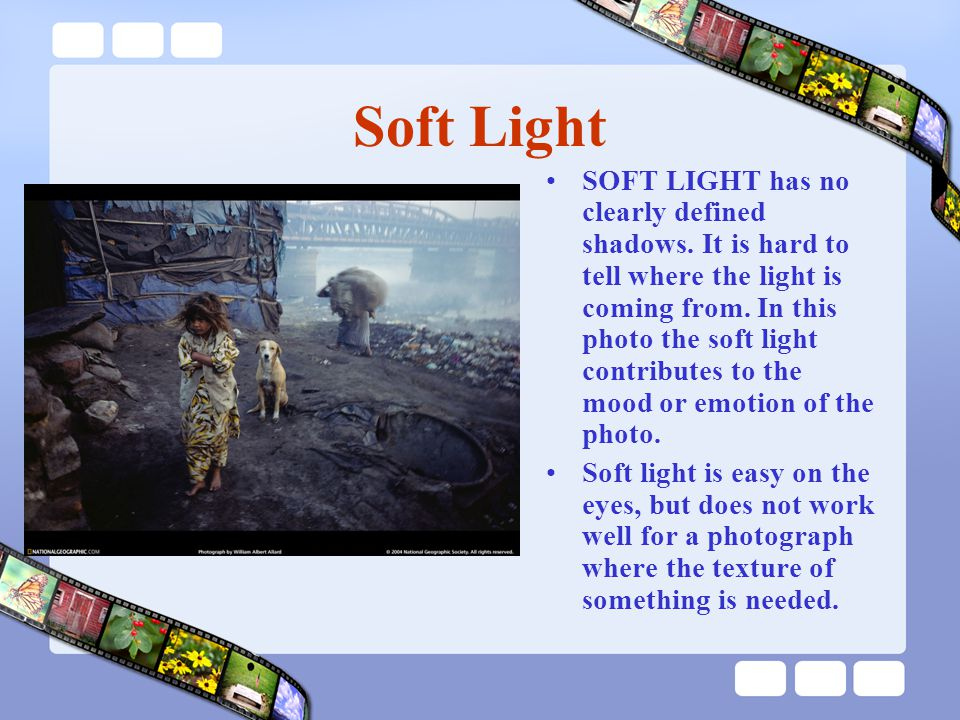 Split Key Lighting In split lighting, the key light is moved farther to the side of the subject and lower.In split lighting, the key light is moved farther to the side of the subject and lower.