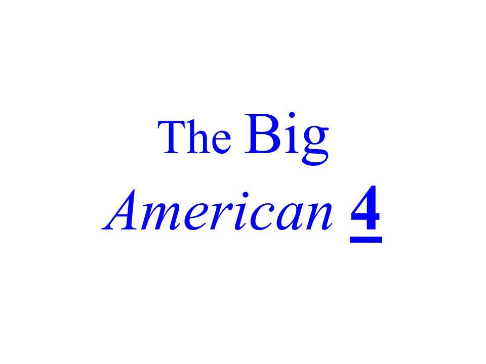 The Big American 4