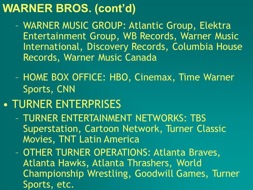 WALT DISNEY MOVIES: Disney, Touchstone, Caravan, Hollywood Pictures, Miramax, Buena Vista International (distribution) TV: Buena Vista Home Video, Walt Disney TV, The Disney Channel, ABC Television Network, ESPN, A&E Networks, Lifetime TV, etc.