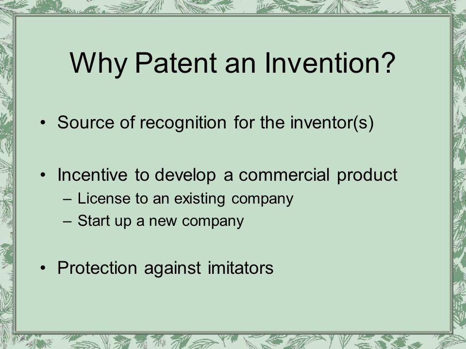 What are the chances of obtaining a patent? Source: AUTM 2006 survey