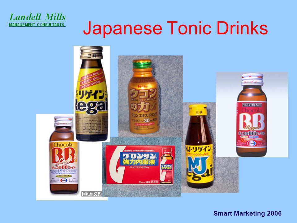Smart Marketing 2006 Japanese Tonic Drinks