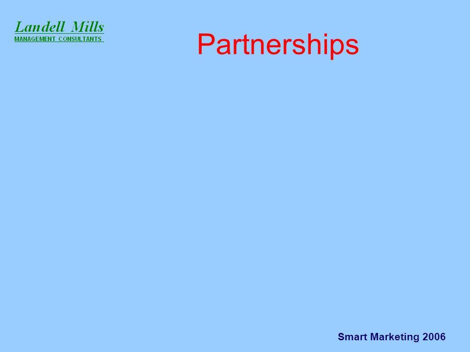 Smart Marketing 2006 Partnerships